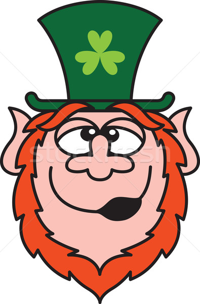 Drunk St Paddy's Day Leprechaun Stock photo © zooco