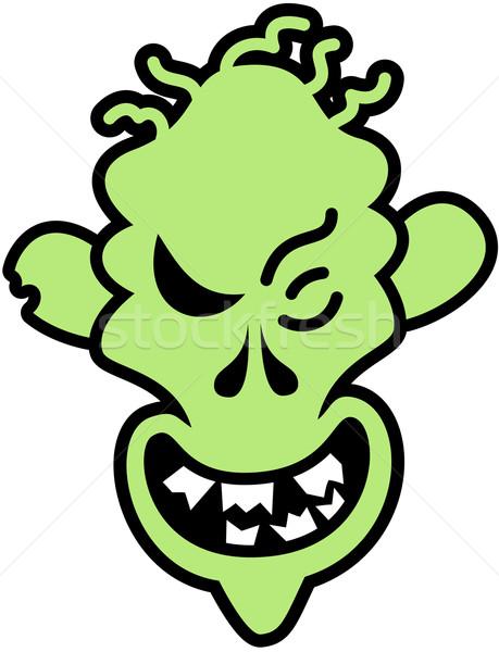 Naughty Halloween zombie Stock photo © zooco