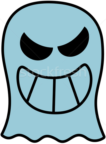 Naughty Halloween Ghost Stock photo © zooco