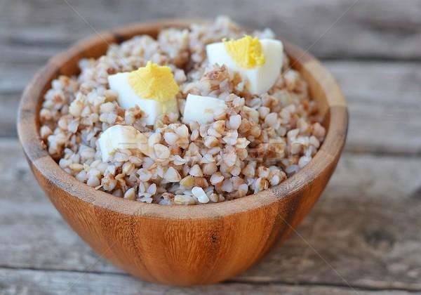buckwheat groats Stock photo © zoryanchik