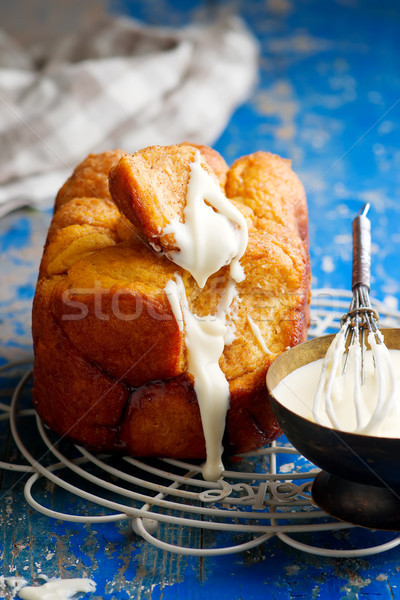 bread machine pumpkin monkey bread. Stock photo © zoryanchik