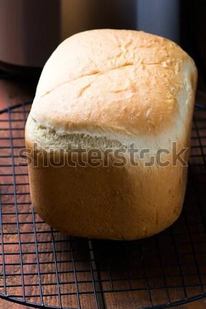 Pão pão máquina foco casa Foto stock © zoryanchik