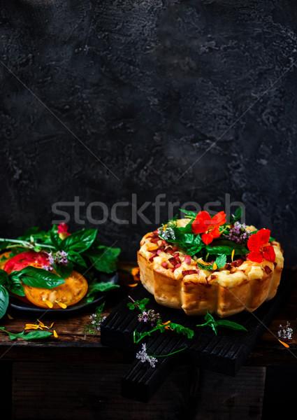 торт Focus сыра стиль деревенский Сток-фото © zoryanchik