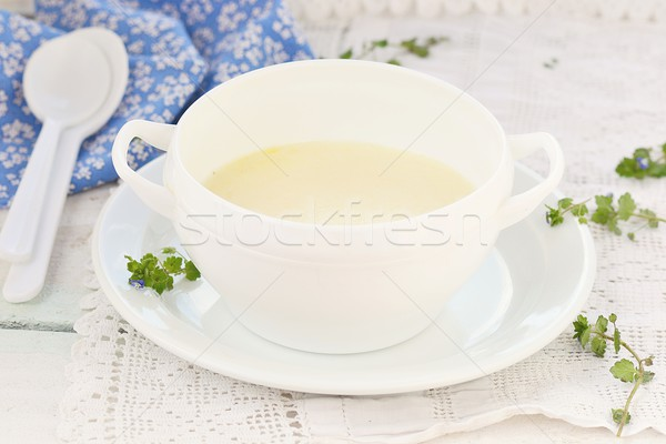 semolina porridge for breakfast  Stock photo © zoryanchik