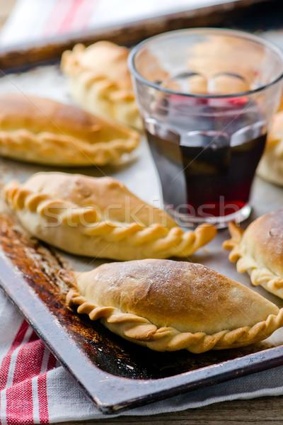 Empanadas ,traditional Argentina pies. Stock photo © zoryanchik