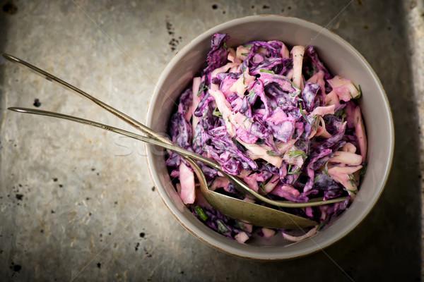 salad Cole slaw   Stock photo © zoryanchik