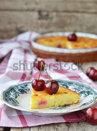 ブラッドオレンジ ポンド ケーキ オレンジ アイシング ストックフォト © zoryanchik