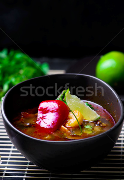 soup Tom yam kung .  Stock photo © zoryanchik