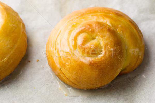 fresh buns Stock photo © zoryanchik