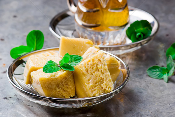 sesame halva  Stock photo © zoryanchik