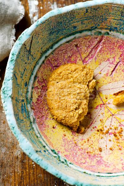 pumpkin cheesecake cookies.style rustic Stock photo © zoryanchik