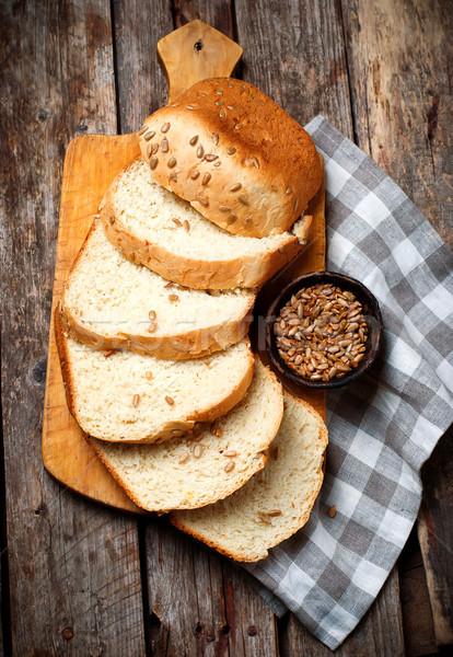 цельной пшеницы подсолнечника меда хлеб стиль Сток-фото © zoryanchik