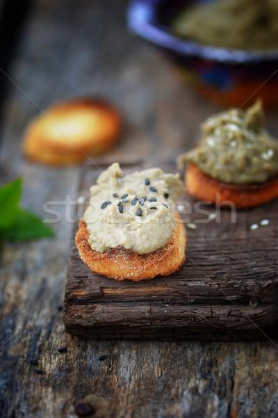 lentil pate Stock photo © zoryanchik