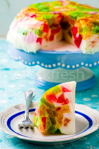 Dessert  'Beaten glass'.  Stock photo © zoryanchik