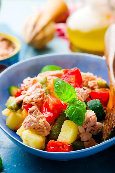 Genoa Salad with Tuna Stock photo © zoryanchik
