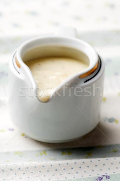sauce bechamel.style rustic. selective focus Stock photo © zoryanchik