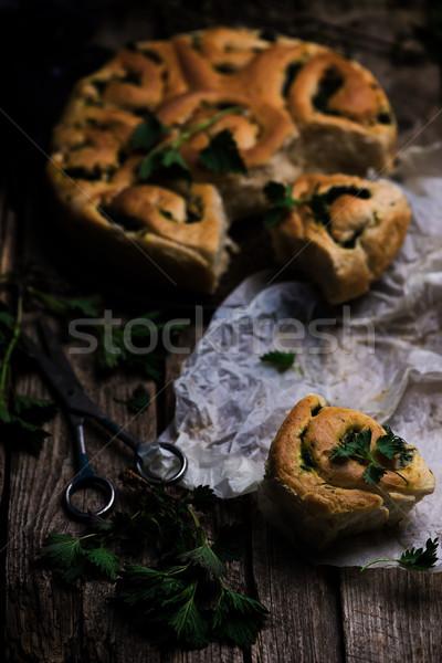 Wild volkoren stijl rustiek selectieve aandacht voedsel Stockfoto © zoryanchik