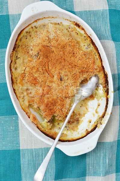 Baked cabbage. Stock photo © zoryanchik
