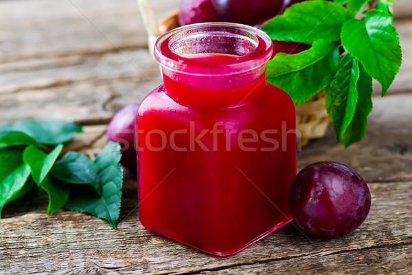 Jam домашний зрелый органический продовольствие Сток-фото © zoryanchik