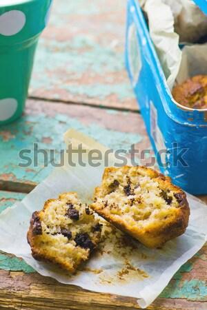 Сток-фото: кружка · торт · подготовленный · микроволновая · печь · горизонтальный · разрешение