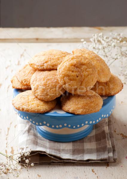 pumpkin snickerdoodle cookies..style rustic Stock photo © zoryanchik