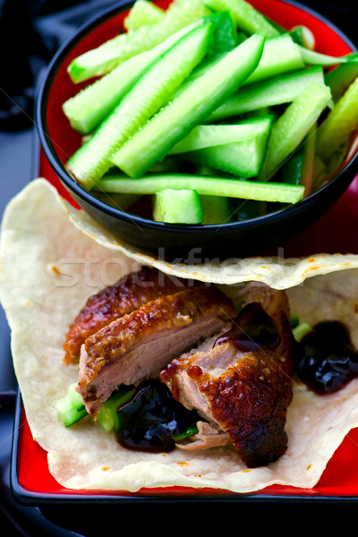 Peking Duck  Stock photo © zoryanchik