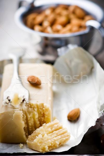 piece of crude marzipan.  Stock photo © zoryanchik