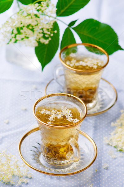 tea with  elderberry  Stock photo © zoryanchik
