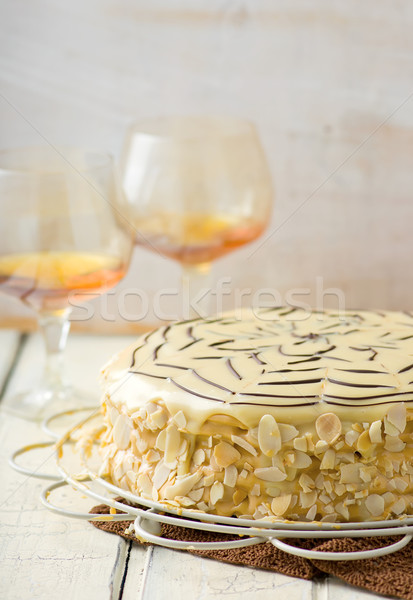 Esterhazy Torte Stock photo © zoryanchik