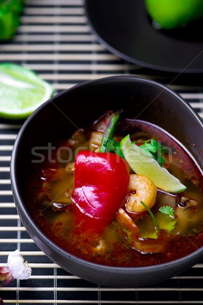 soup Tom yam kung .  Stock photo © zoryanchik