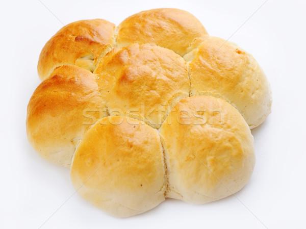 Delicious food, bread isolated Stock photo © zurijeta