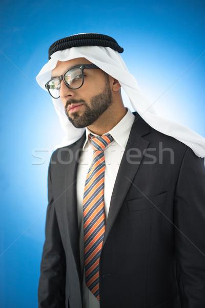 Portrait of attractive Arab man Stock photo © zurijeta
