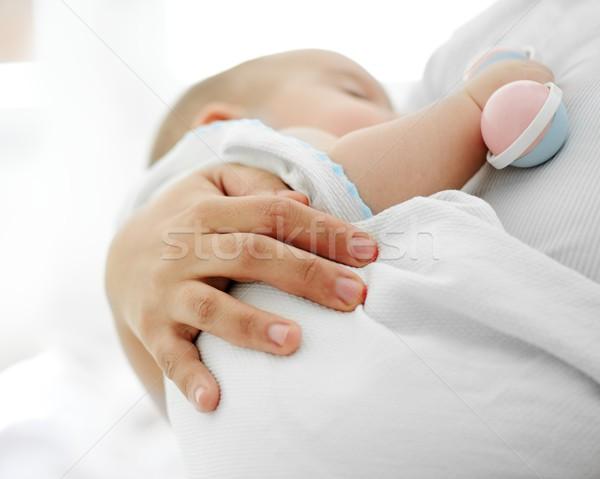 愛らしい 赤ちゃん 少年 腕 ストックフォト © zurijeta