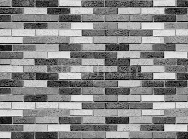 áspero pared de ladrillo construcción pared calle rock Foto stock © zurijeta