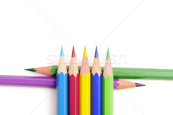 color pencils  Stock photo © zurijeta