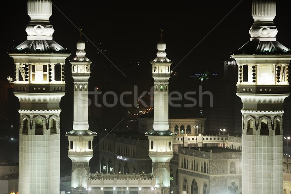Makkah Kaaba minarets Stock photo © zurijeta