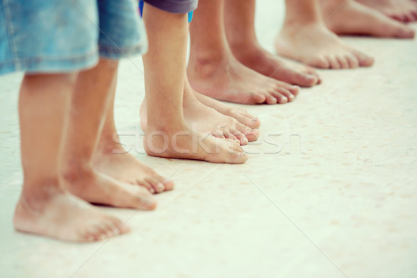 детей ног школы образование ног Африка Сток-фото © zurijeta