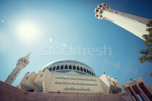 Arabic mosque in Amman Jordan Stock photo © zurijeta