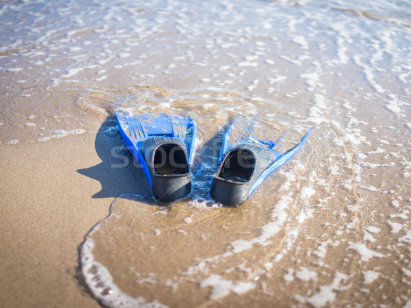 On the beach Stock photo © zurijeta