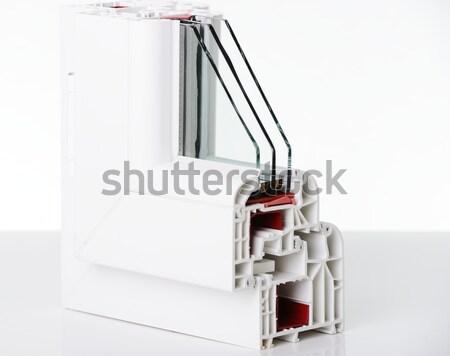 プラスチック ウィンドウ プロファイル ビジネス 家 建物 ストックフォト © zurijeta