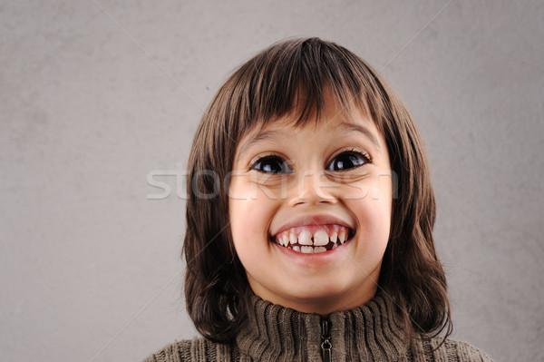 男子生徒 賢い 子供 年 古い 1 ストックフォト © zurijeta