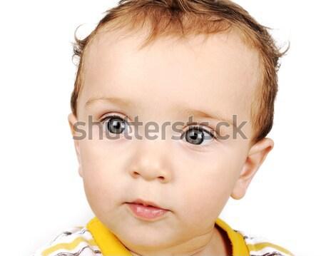 Naar baby liefde glimlachend Stockfoto © zurijeta