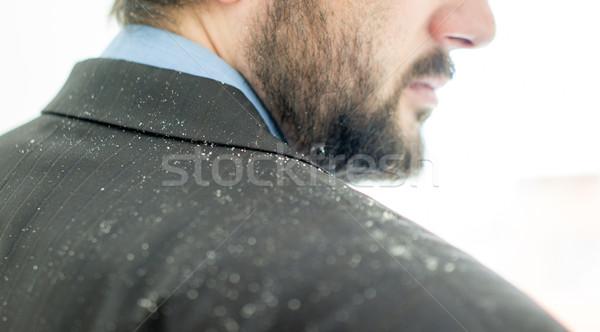 Man haren zakenman medische zakenman pak Stockfoto © zurijeta