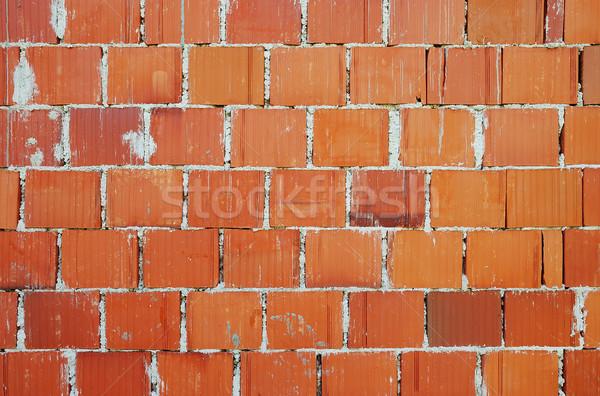 Standaard baksteen patroon vorm muur stedelijke Stockfoto © zurijeta