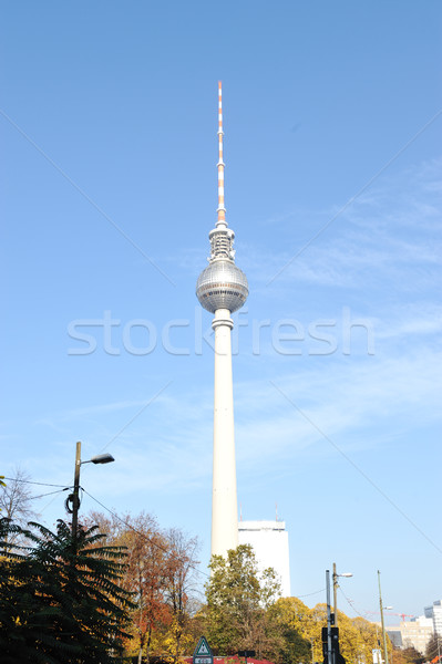 Berlin tower Stock photo © zurijeta
