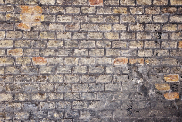 An old and characteristic wall, colorful brickwall Stock photo © zurijeta