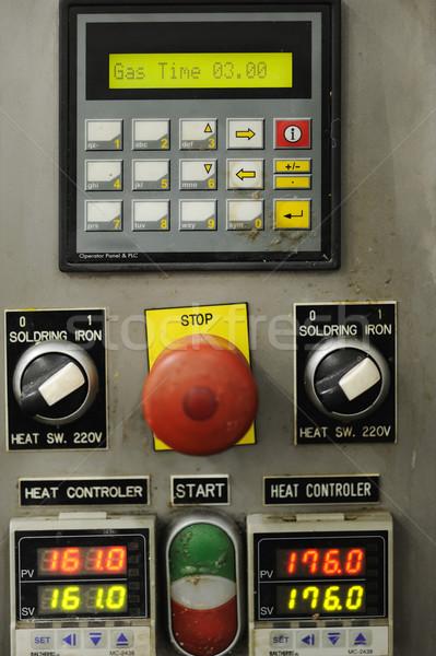 ボタン 表示 コントロールパネル 技術 キーボード 表 ストックフォト © zurijeta