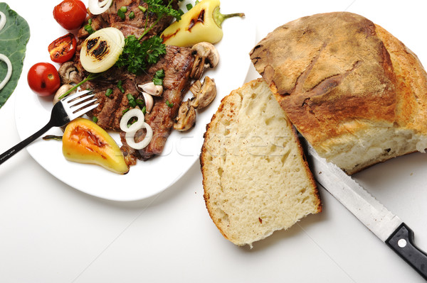 Preparato decorato alimentare tavola home Foto d'archivio © zurijeta
