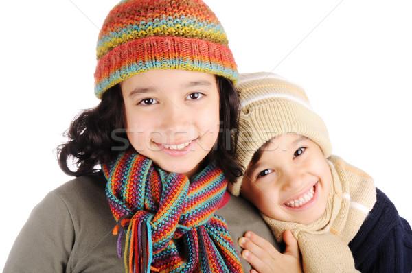 Stock photo: Winter happiness