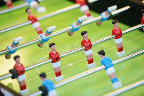 Futebol jogo de futebol tabela esportes futebol equipe Foto stock © zurijeta